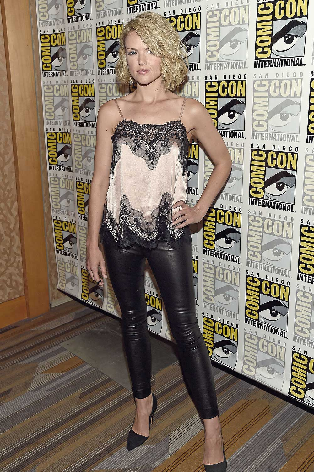 Erin Richards attends Gotham Press Line