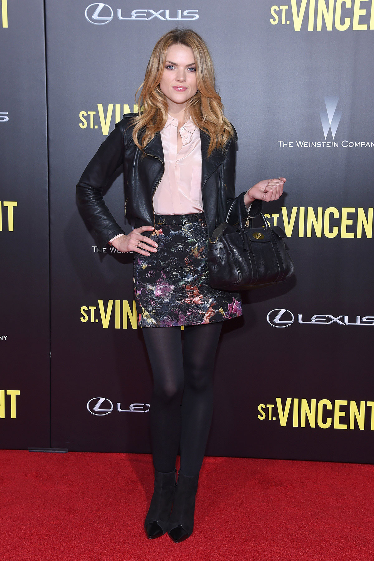 Erin Richards attends New York Premiere of St. Vincent