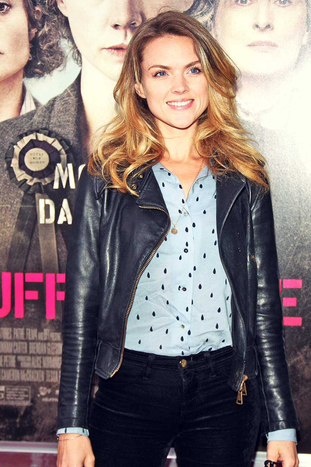 Erin Richards attends New York premiere of Suffragette
