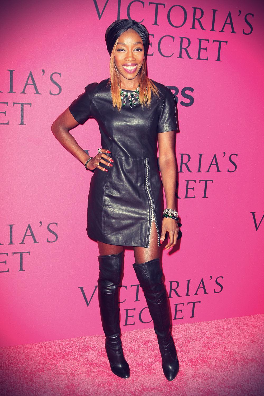 Estelle attends the 2013 Victoria's Secret Fashion Show