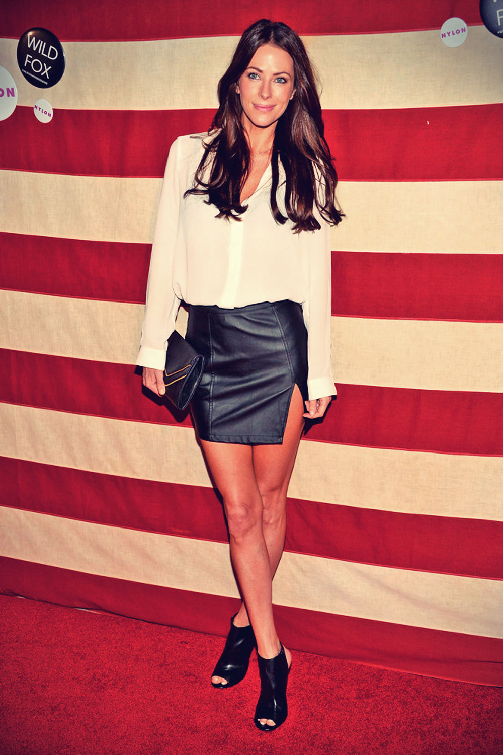 Esther Anderson attends the Nylon Magazine celebration of America The Issue