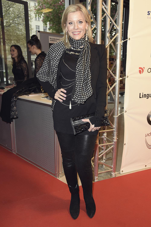 Eva Habermann attends Victress Awards Gala