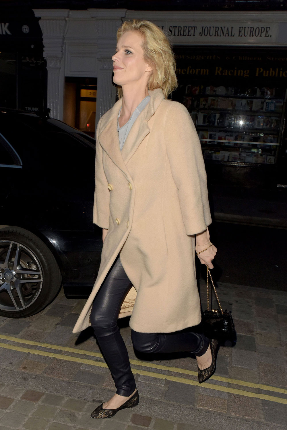 Eva Herzigova attends Poppy Delevingne's 30th Birthday Party