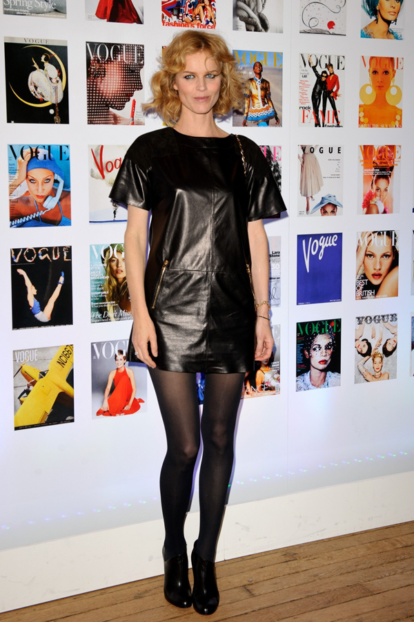 Eva Herzigova at Vogue Festival
