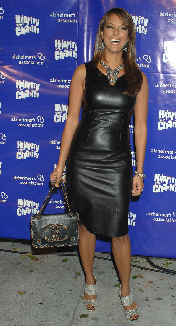 Eva LaRue at Hilarity for Charity to benefit the Altzheimers Association in LA