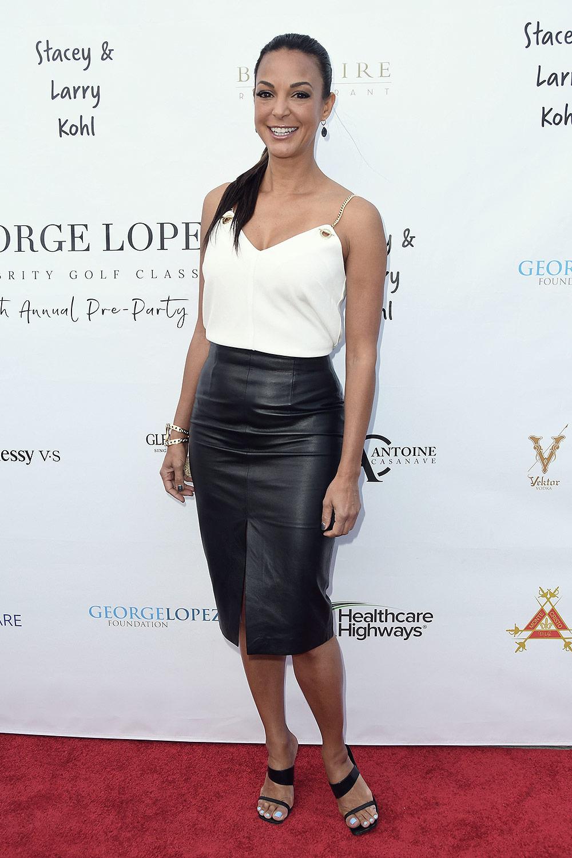 Eva LaRue attends George Lopez Golf Classic Pre-Party