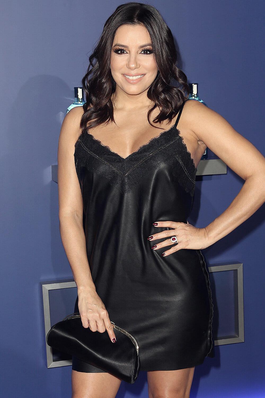 Eva Longoria Leather Style Trends Leather Celebrities
