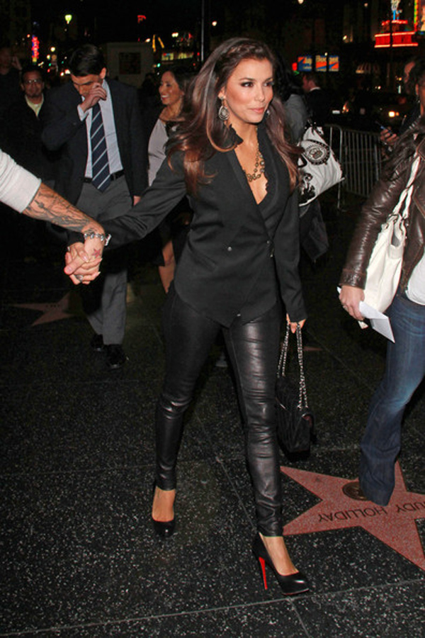 Eva Longoria at premiere of the new Underworld movie at Grauman's Chinese Theatre in Hollywood