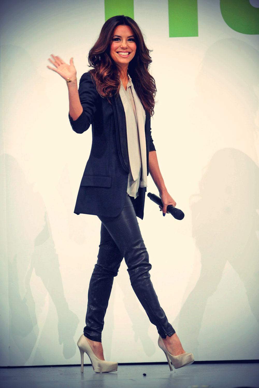 Eva Longoria attends the Hulu NY Upfront