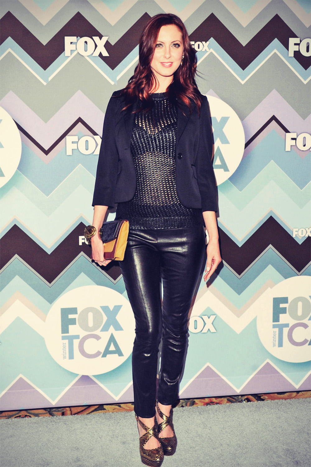 Eva Amurri attends 013 TCA Winter Press Tour FOX All-Star Party
