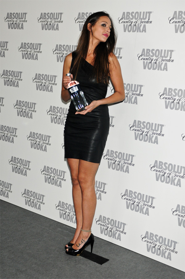 Eva Gonzalez at Cibeles Fashion Week 2011