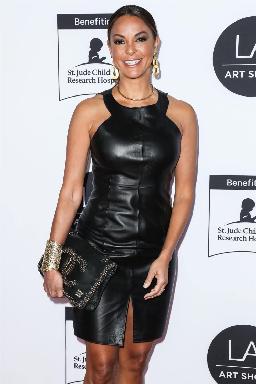 Eva LaRue attends Los Angeles Art Show 2020 Opening Night Gala