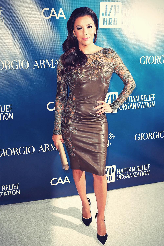 Eva Longoria attends the 2013 Sean Penn and Friends Help Haiti Gala