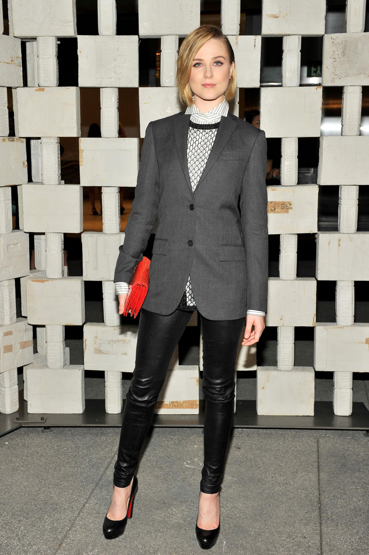 Evan Rachel Wood attends Hammer Museum's 12th annual Gala