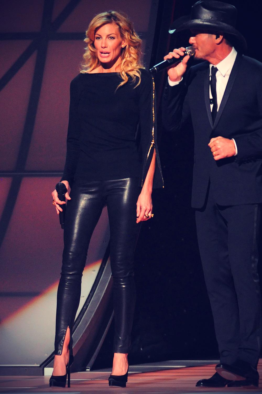 Faith Hill at 46th annual CMA Awards