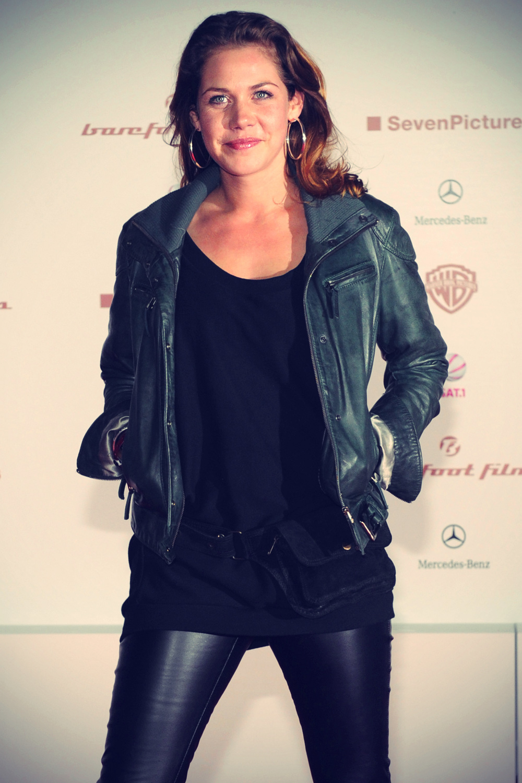 Felicitas Woll at Filmpremiere von Zweiohrkuken