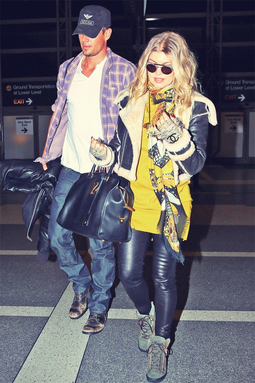 Fergie leaving Los Angeles