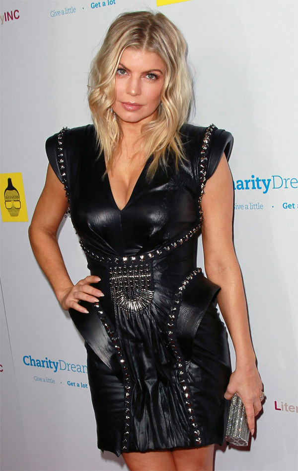 Fergie at APL.De.Ap's Birthday Celebration & Launch of Charity Dreams