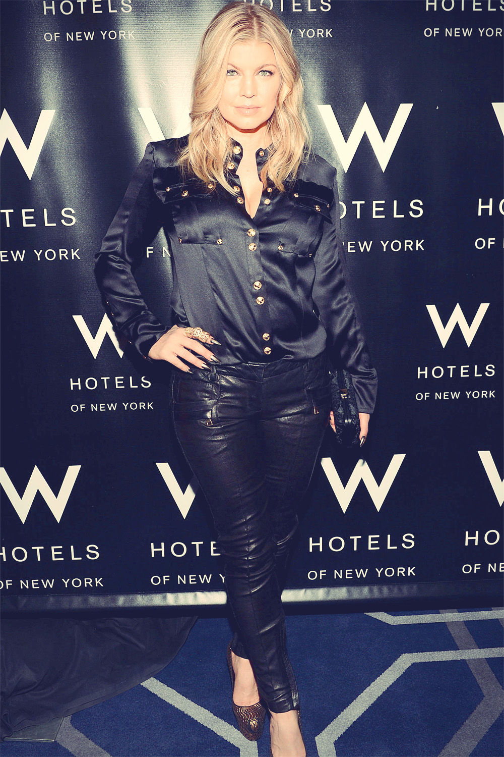 Fergie attends W LOVE Hangover Ball