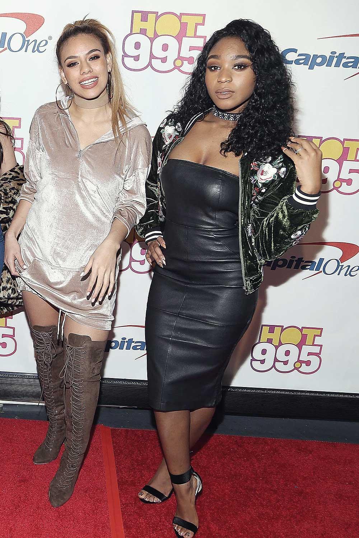 Fifth Harmony attends Hot 99.5's Jingle Ball 2016