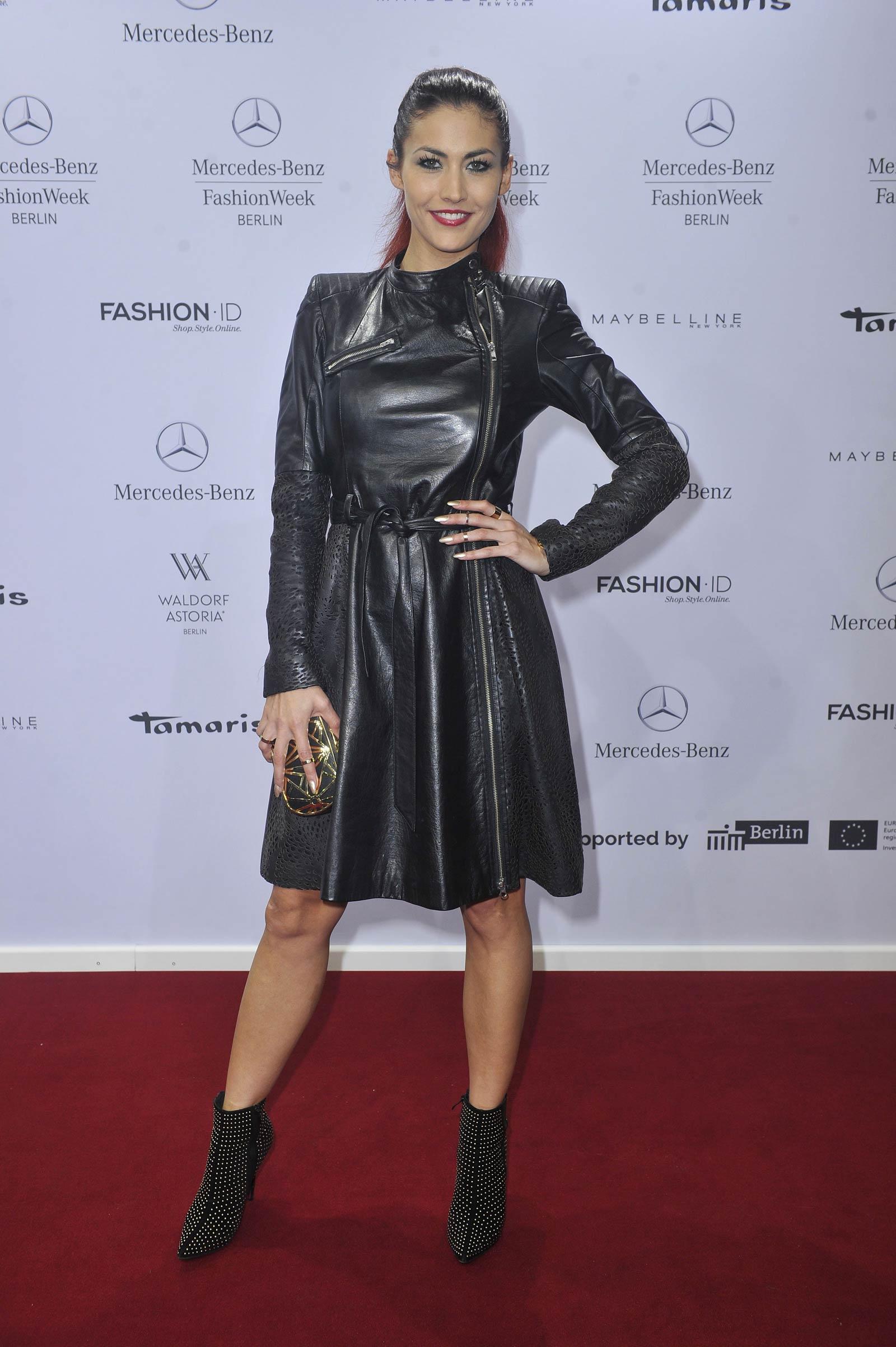 Fiona Erdmann attends Glaw Fashion Show