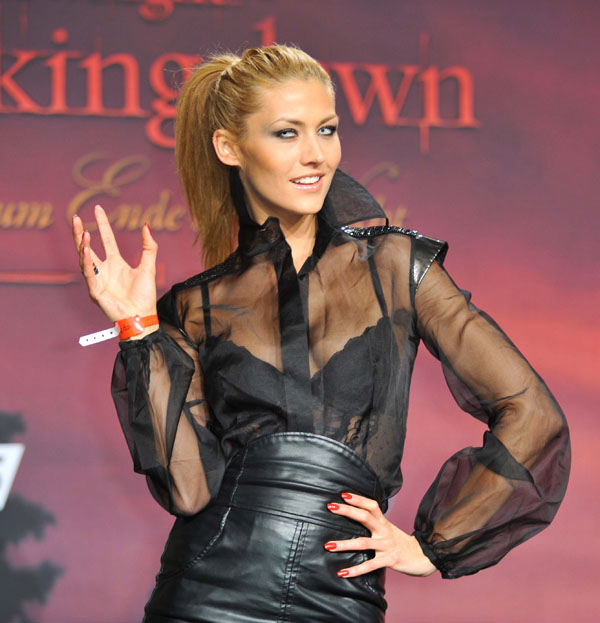 Fiona Erdmann Deutschlandpremiere The Twilight in Berlin