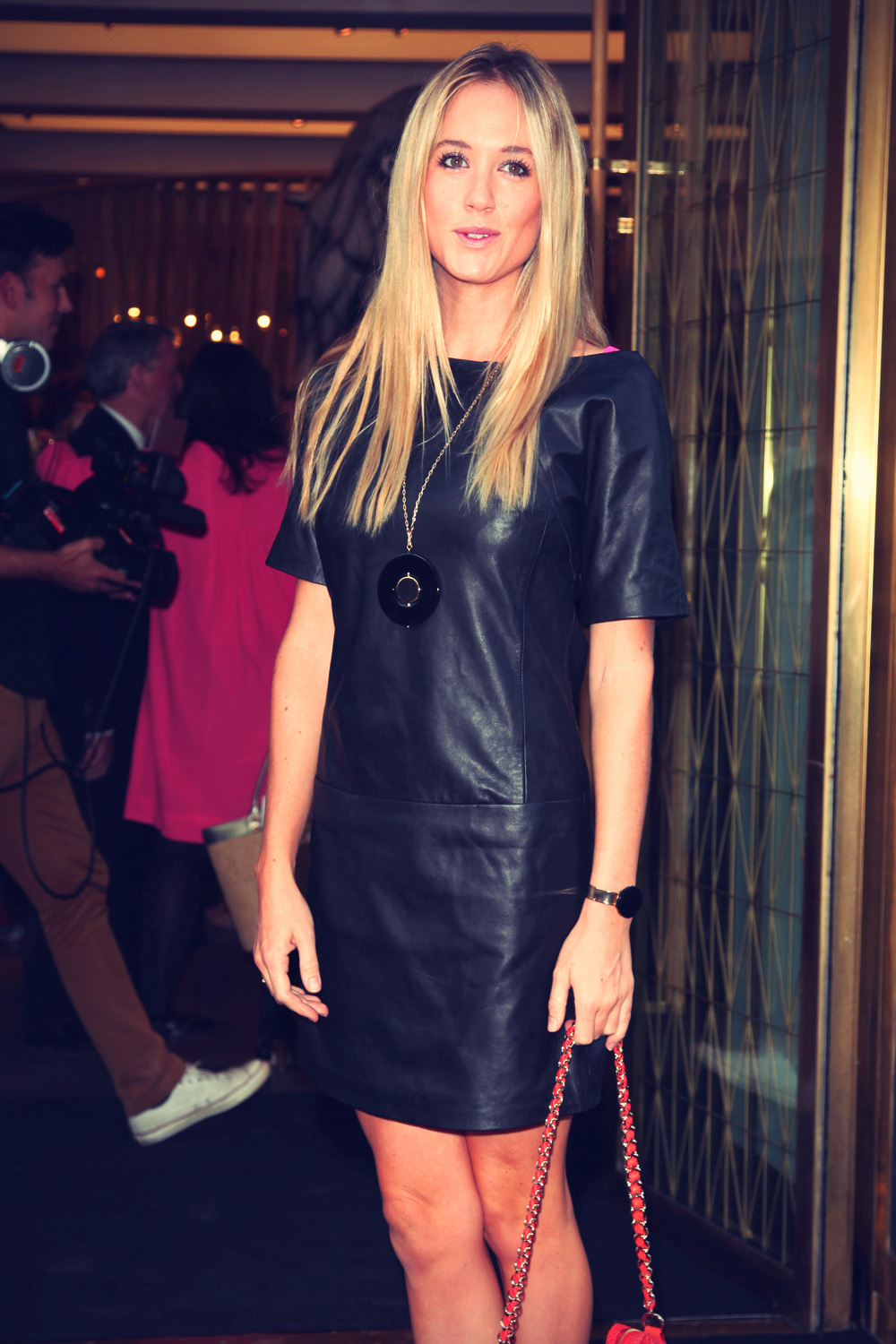 Florence Brudenell Bruce at Fashion's Night Out 2012