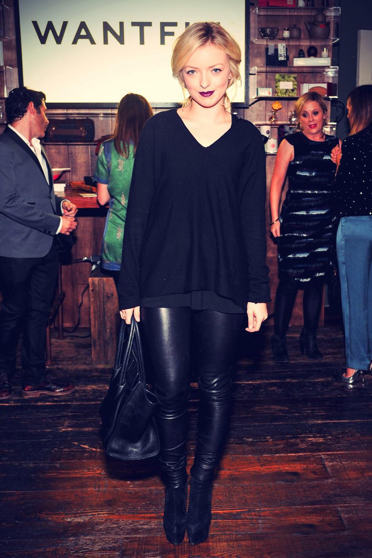Francesca Eastwood attends Wantful: Art of Giving