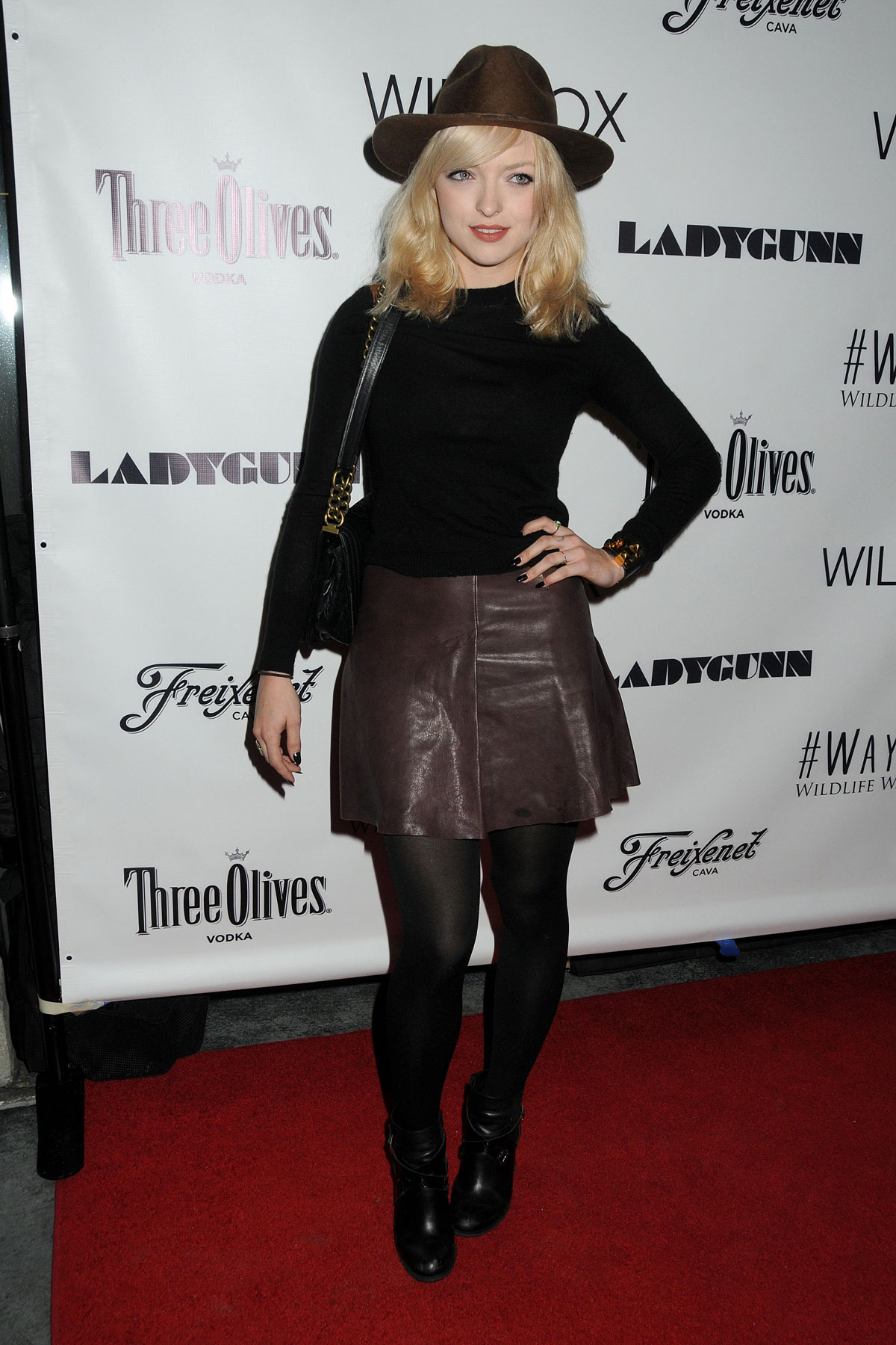 Francesca Eastwood attends Wayke Up Fundraiser