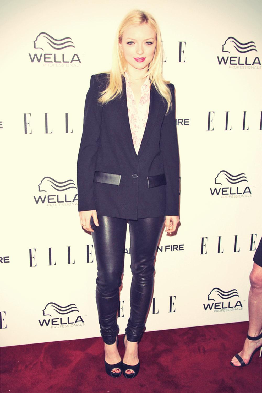 Francesca Eastwood attends the ELLE's Women in Television Celebration