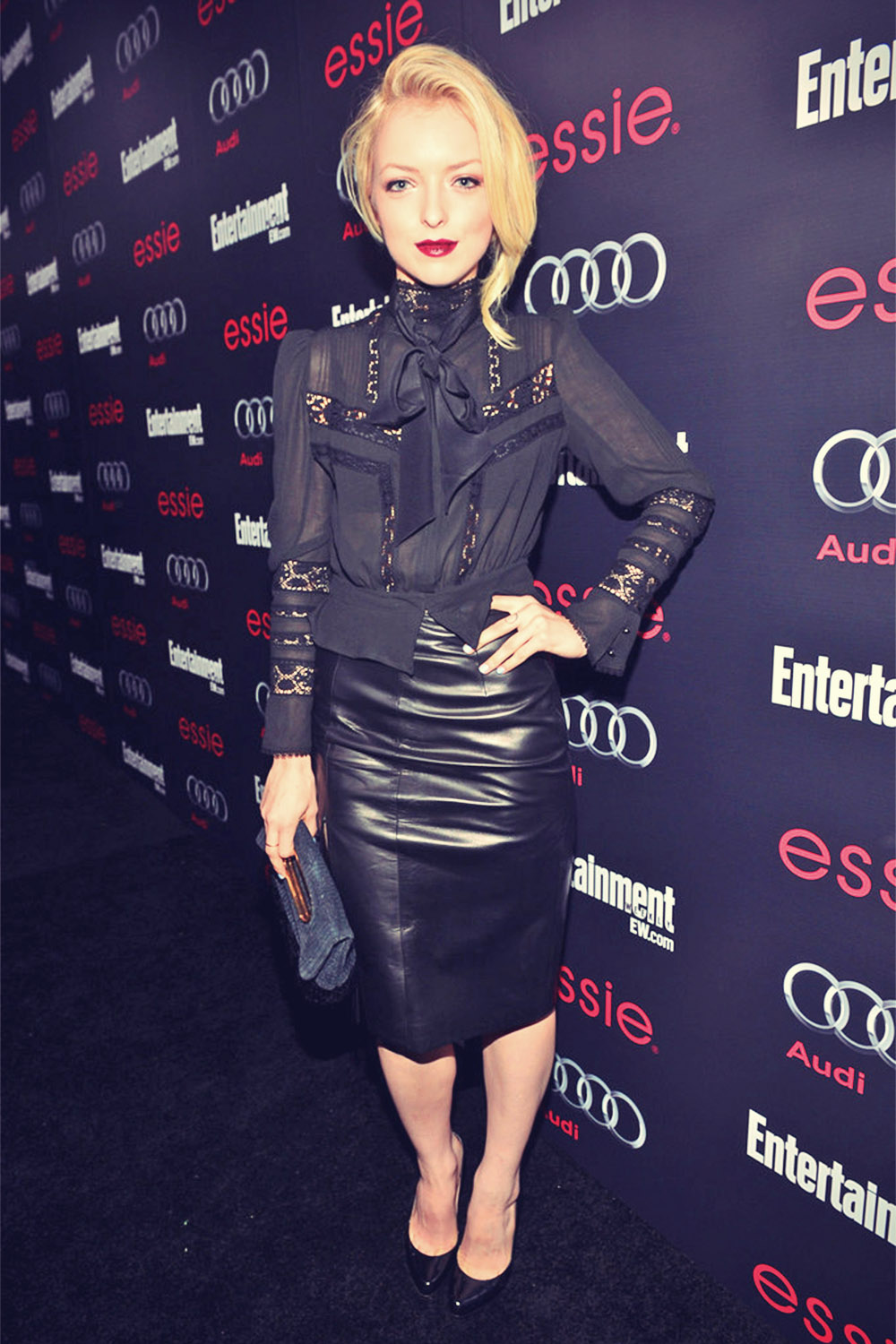 Francesca Eastwood attends the Entertainment Weekly Pre-SAG Party hosted by Essie and Audi held at C
