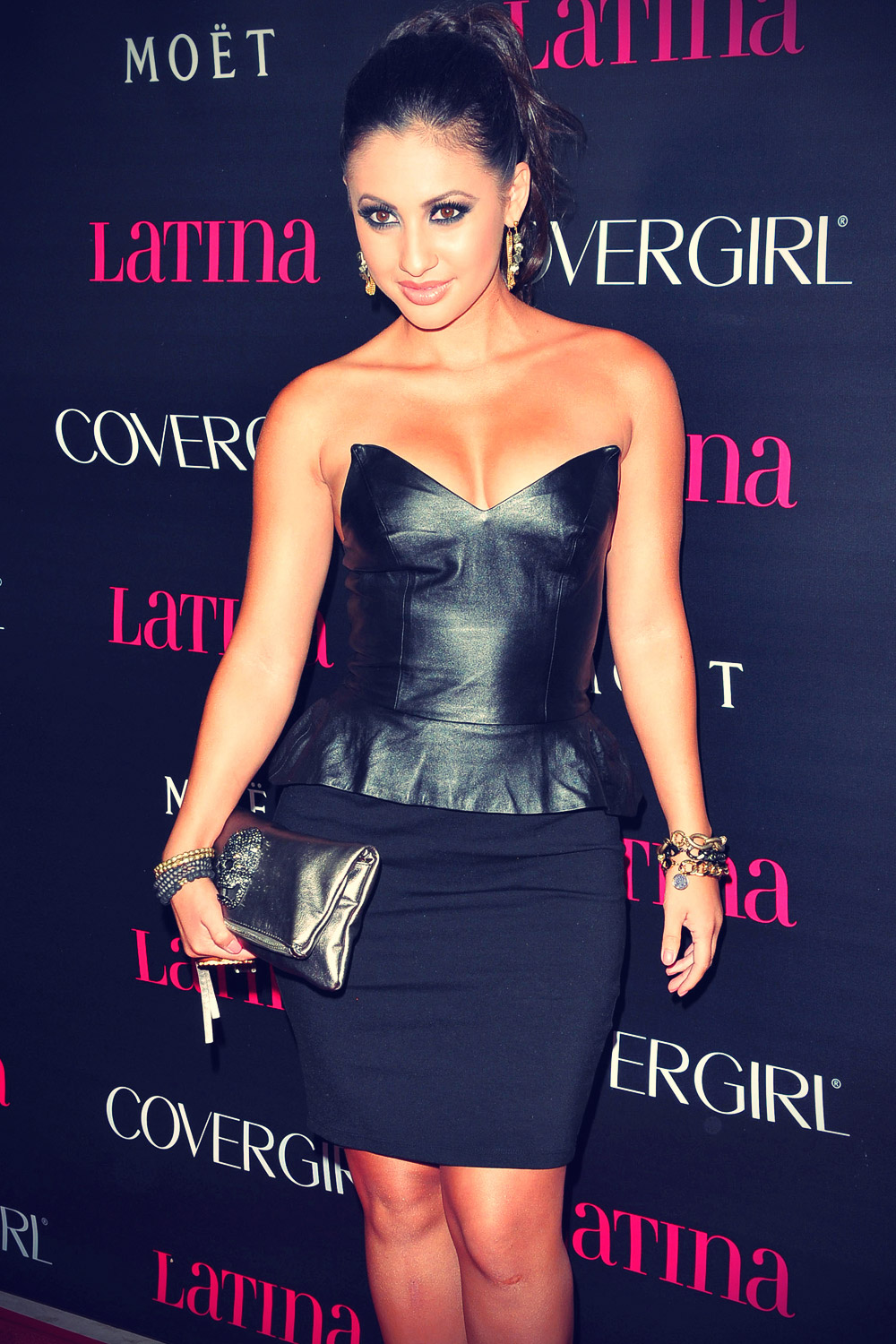 Francia Raisa at Latina Magazine's Latinos