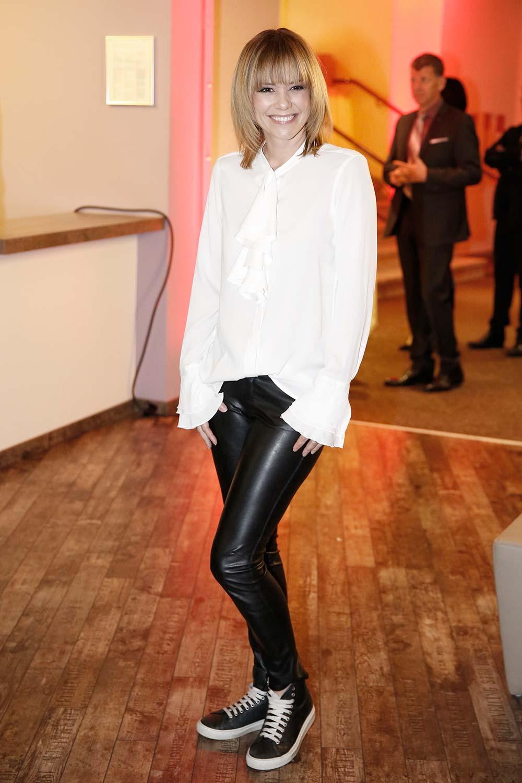 Francine Jordi attends Adventsfest der 100.000 Lichter