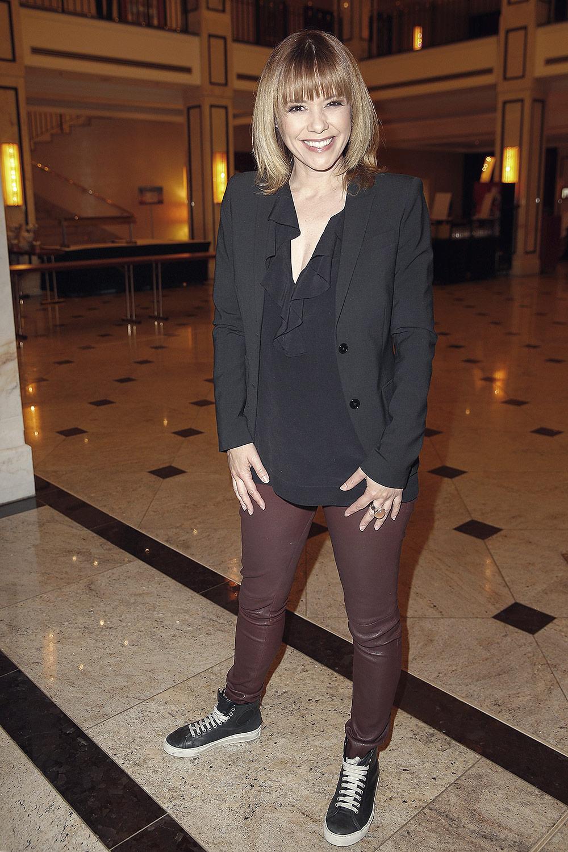 Francine Jordi attends Willkommen bei Carmen Nebel