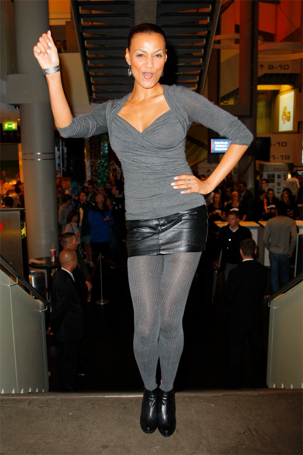 Francisca Urio at The Three Musketeers premiere in Berlin