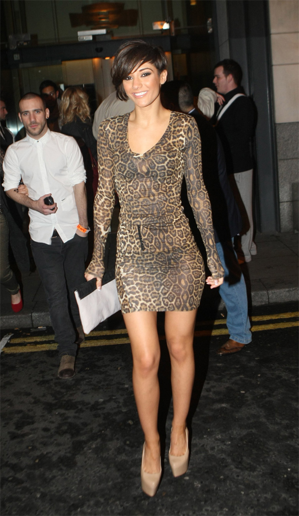 Frankie Sandford at Krystle nightclub in Dublin