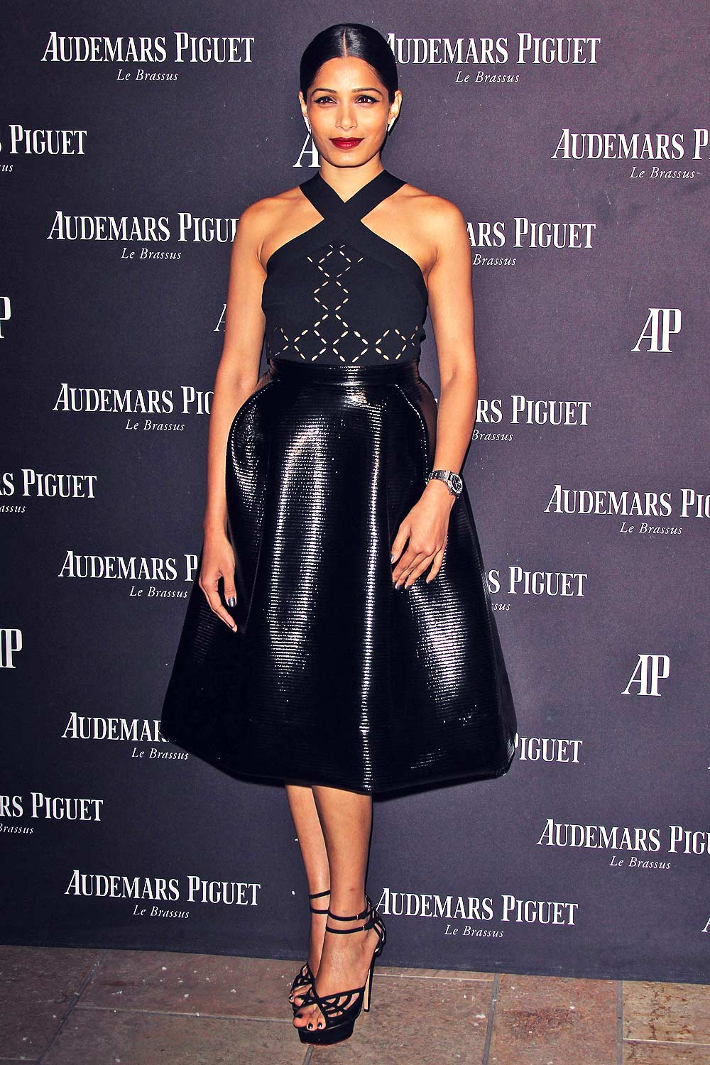 Freida Pinto attends Audemars Piguet Celebrates Grand Opening of Rodeo Drive Boutique