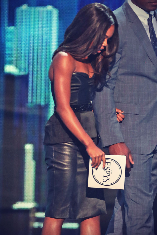 Gabby Douglas attends the 2013 ESPY Awards