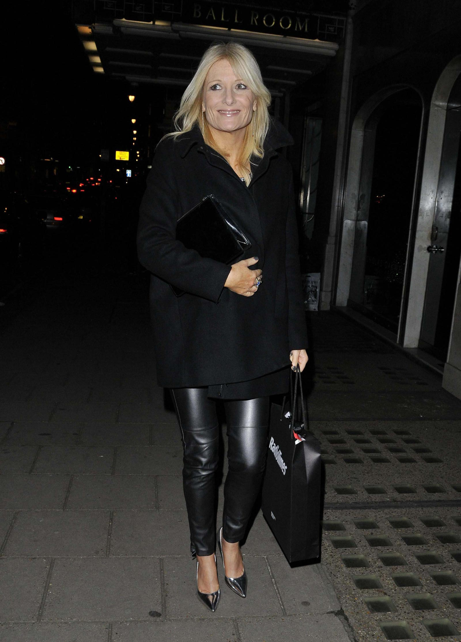Gaby Roslin at Radio Times Cover Party