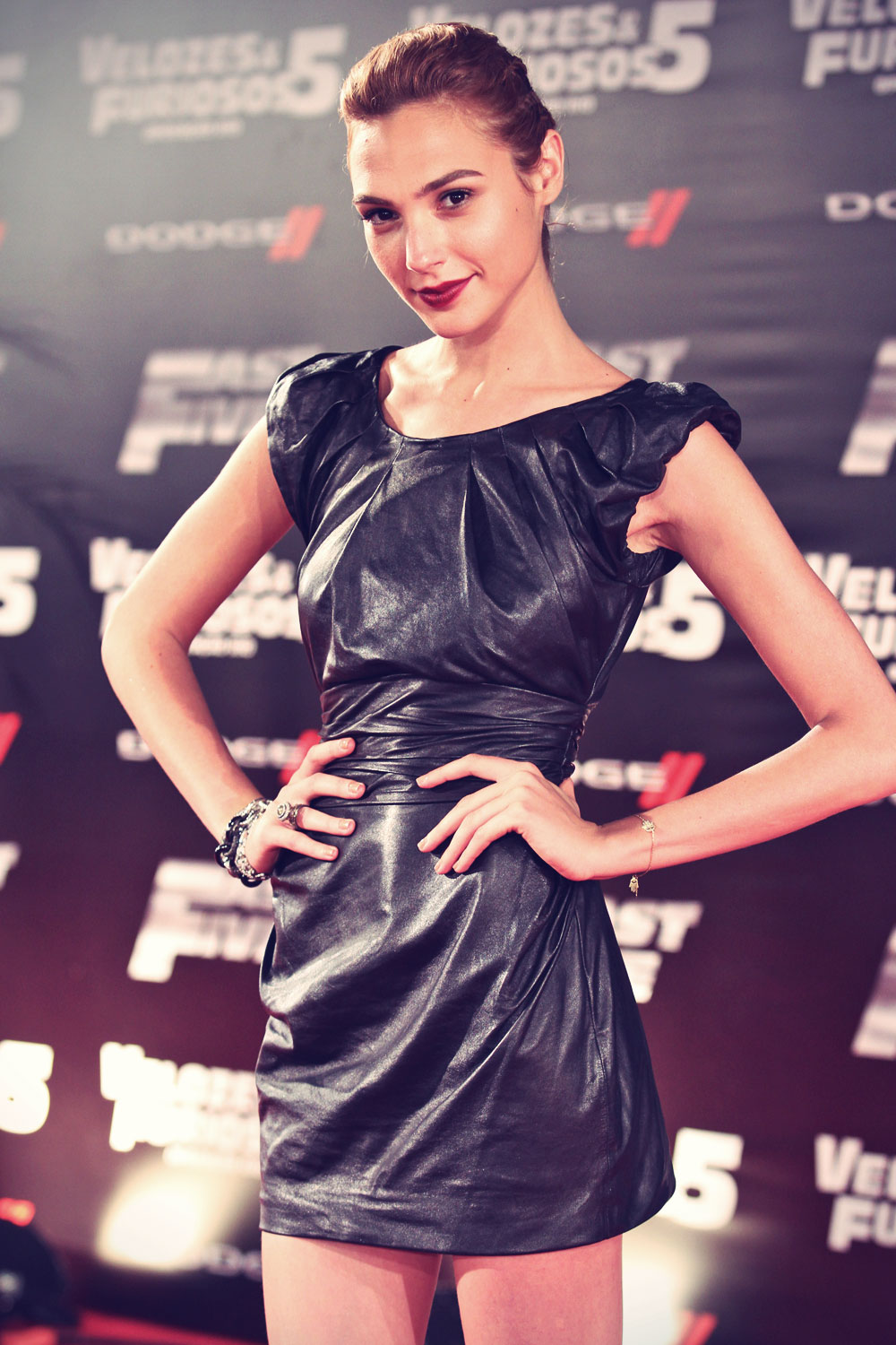 Gal Gadot attends Fast 5 World Premiere