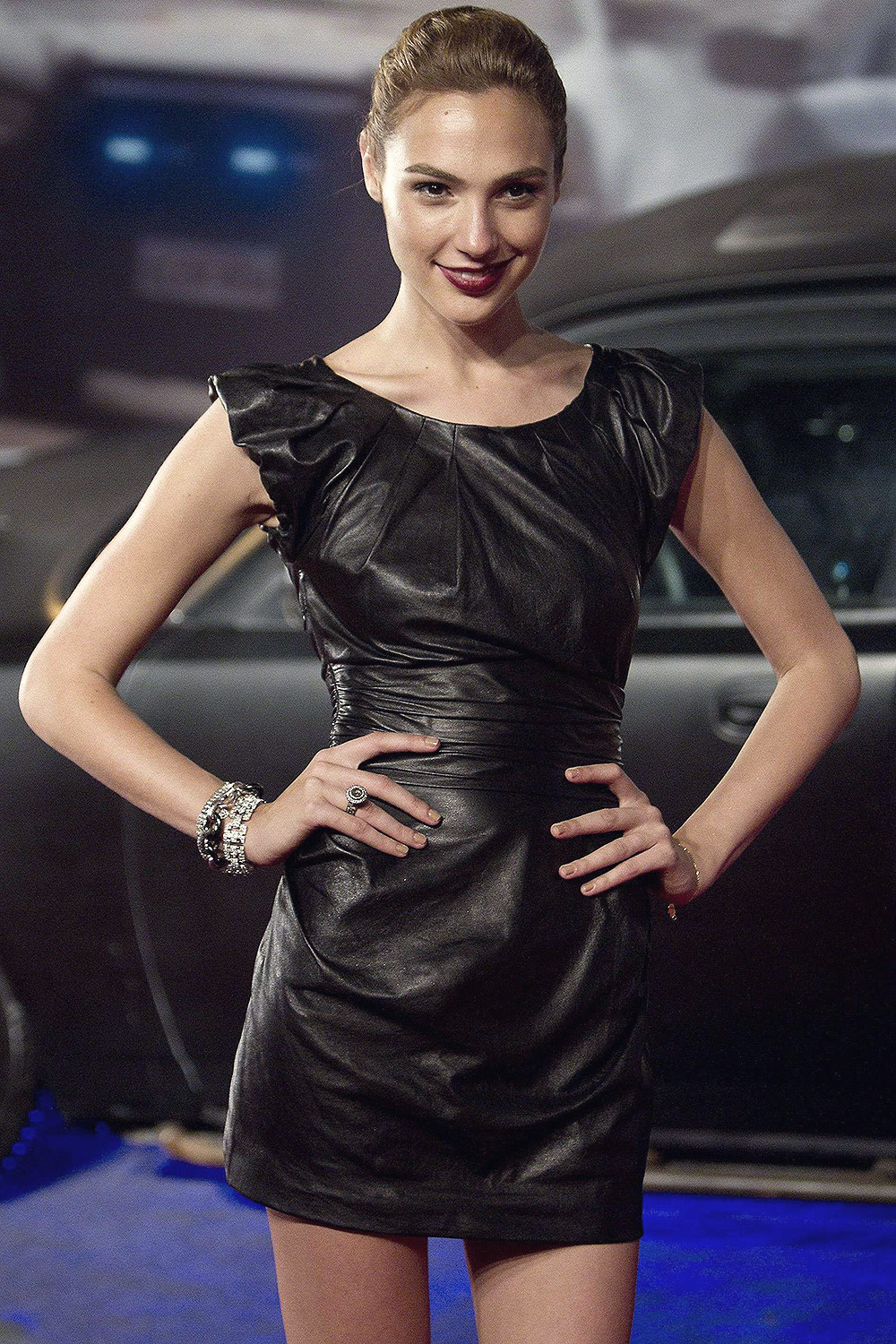 Gal Gadot attends Fast and Furious 5 at Cinepolis Lagoon