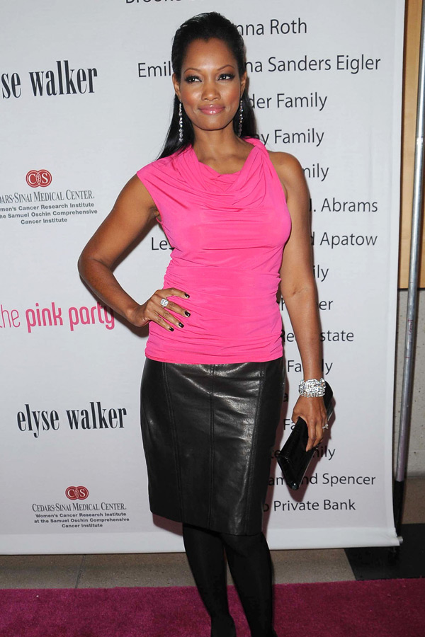 Garcelle Beauvais-Nilon at Pink Party