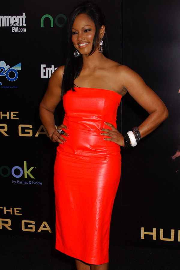 Garcelle Beauvais at The Hunger Games premiere in LA