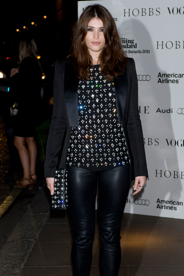 Gemma Arterton The 57th Evening Standard Theatre Awards