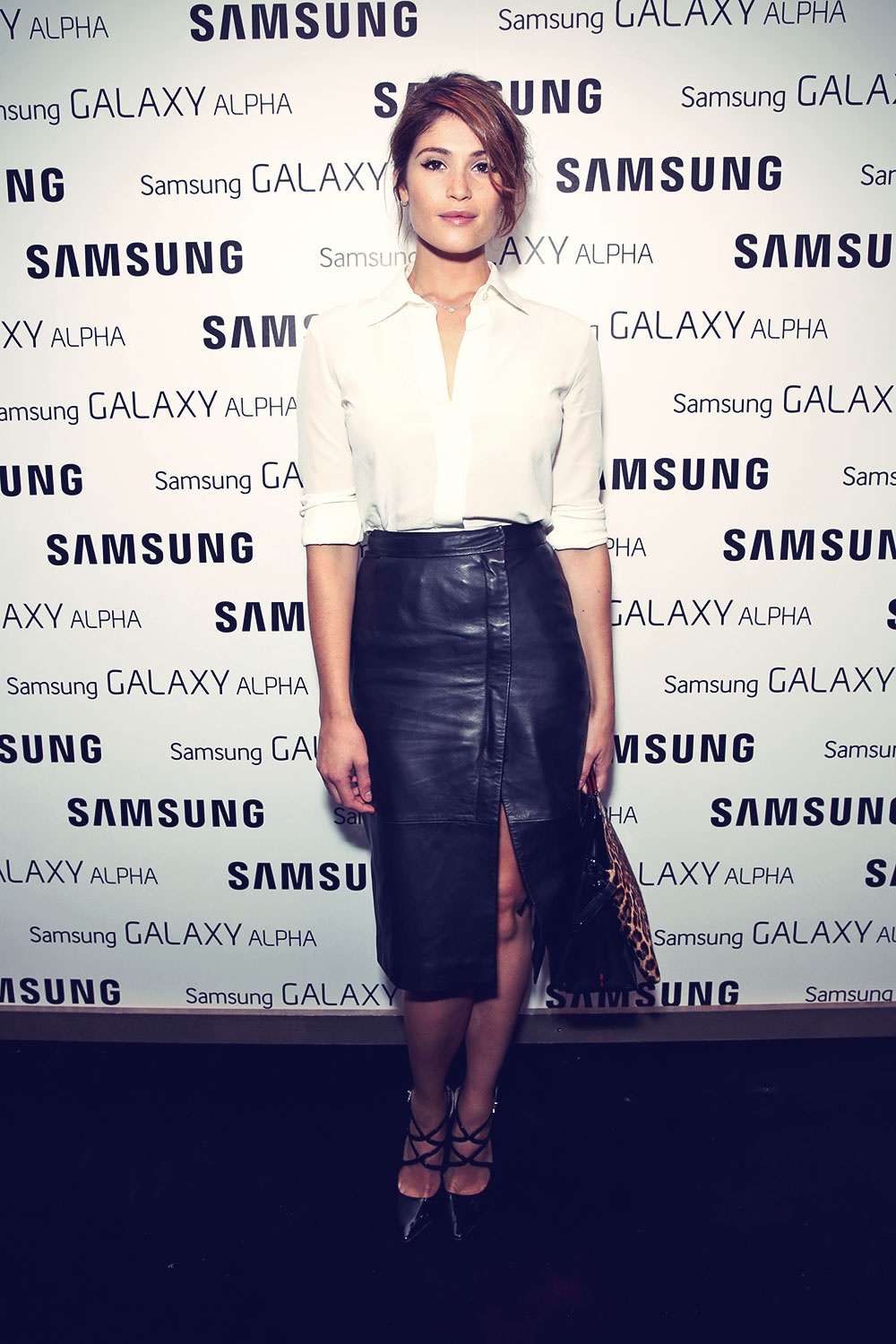 Gemma Arterton attends Samsung Galaxy Alpha Launch party