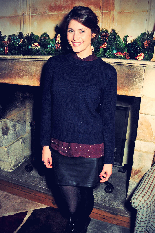 Gemma Arterton attends Saving Mr. Banks Private Screening