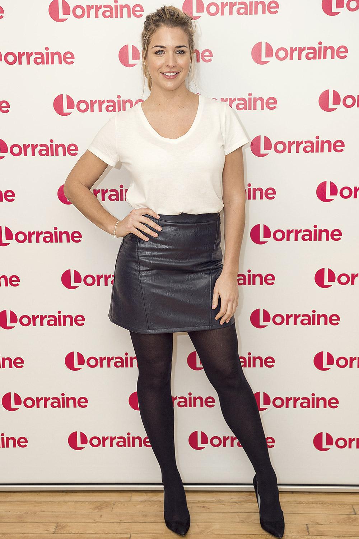 Gemma Atkinson at Lorraine TV Show London