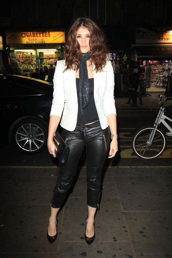 Gemma Arterton outside the Hoping Foundation charity dinner in London