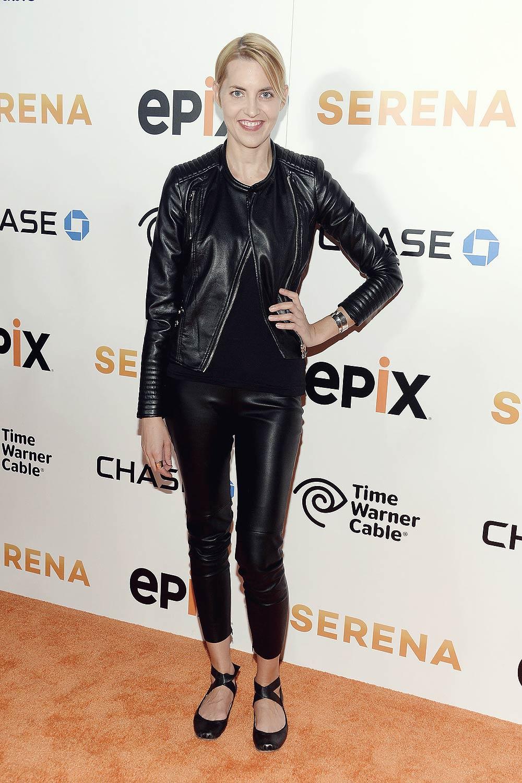 Genevieve Bahrenburg attends the Premiere of Serena