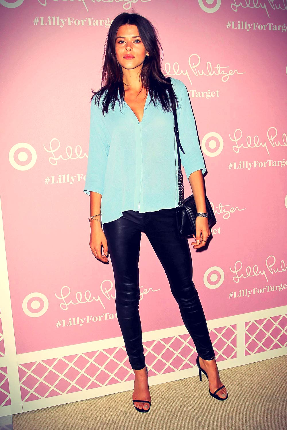Georgia Fowler Attends Lilly Pulitzer For Target Launch